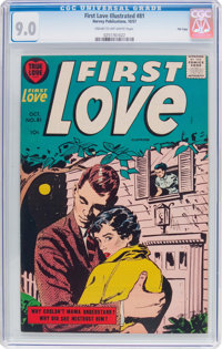First Love Illustrated #81 File Copy (Harvey, 1957) CGC VF/NM 9.0 Cream to off-white pages