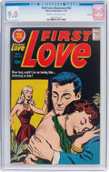 Silver Age (1956-1969):Romance, First Love Illustrated #82 File Copy (Harvey, 1957) CGC VF/NM 9.0Cream to off-white pages....