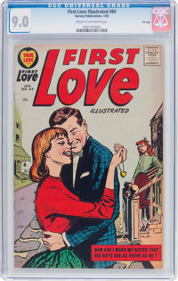 First Love Illustrated #84 File Copy (Harvey, 1958) CGC VF/NM 9.0 Cream to off-white pages
