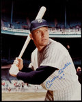 """Autographs:Photos, 1990's Mickey Mantle """"No. 7"""" Signed Oversized Photograph. ..."""