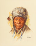 Fine Art - Work on Paper:Drawing, Harley Brown (American, b. 1939)Rainy Chief...