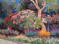 Fine Art - Painting, American:Contemporary   (1950 to present)  , Kent R. Wallis (American, b. 1945). A Spot Down the Road,1991. Oil on canvas. 36 x 48 inches (91.4 x 121.9 cm). Signed ...
