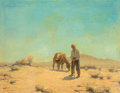 Fine Art - Painting, American, Victor Clyde Forsythe (American, 1885-1962). High Noon. Oilon canvas laid on Masonite. 21 x 27-1/4 inches (53.3 x 69.2 ...
