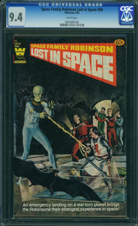 Space Family Robinson #58 (Whitman Publishing Co., 1982) CGC NM 9.4 WHITE pages