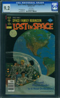 Modern Age (1980-Present):Science Fiction, Space Family Robinson #53 (Gold Key, 10/7) CGC NM- 9.2 White pages.