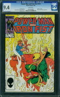 Modern Age (1980-Present):Superhero, Power Man and Iron Fist #113 (Marvel, 1985) CGC NM 9.4 WHITE pages.