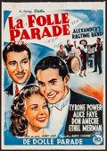 Movie Posters:Musical, Alexander's Ragtime Band (20th Century Fox, R-1950s).