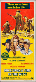 "Movie Posters:Western, Once Upon a Time in the West (Paramount, 1969). Australian Daybill(13"" X 30""). Western.. ..."