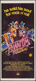 "Movie Posters:Horror, Phantom of the Paradise (20th Century Fox, 1974). Australian Daybill (13"" X 30""). Horror.. ..."