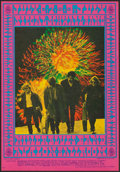 "Movie Posters:Rock and Roll, Siegal Schwall & Steve Miller Blues Band (Family Dog, 1967).First Printing Window Card (14"" X 20""). Rock and Roll.. ..."