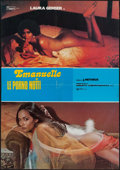 "Movie Posters:Sexploitation, Emanuelle and the Erotic Nights & Other Lot (Stefano, 1978). Italian Foglios (2) (26"" X 38"" & 26.5"" X 37""). Sexploitation.. ... (Total: 2 Items)"