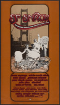 """Movie Posters:Miscellaneous, SNACK Benefit Concert Poster (Bill Graham, 1975). Benefit ConcertPoster (11.75"""" X 21"""") 1st Printing. Rock and Roll.. ..."""