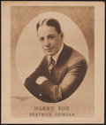 "Movie Posters:Miscellaneous, Harry Fox Personality Poster (International Film Service, 1916). Poster (24.5"" X 20.75""). Miscellaneous.. ..."