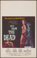 "Movie Posters:Horror, Back from the Dead (20th Century Fox, 1957). Window Card (14"" X22""). Horror.. ..."