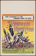 "Movie Posters:Science Fiction, The Monolith Monsters (Universal International, 1957). Window Card(14"" X 22""). Science Fiction.. ..."