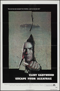 """Escape from Alcatraz & Other Lot (Paramount, 1979). One Sheets (2) (27"""" X 41""""). Thriller. ... (Total:..."""