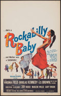 "Movie Posters:Rock and Roll, Rockabilly Baby (20th Century Fox, 1957). Window Card (14"" X 22"").Rock and Roll.. ..."