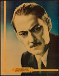 "Movie Posters:Miscellaneous, Lionel Barrymore Personality Poster (MGM, c.1930s). Linen FinishPersonality Poster (22"" X 28""). Miscellaneous.. ..."