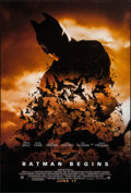 """Movie Posters:Action, Batman Begins (Warner Brothers, 2005). One Sheet (27"""" X 40""""). SSAdvance Style C. Action.. ..."""