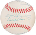 Autographs:Baseballs, 1962 New York Mets Multi-Signed Baseball. ...