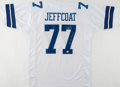 Football Collectibles:Uniforms, Jim Jeffcoat Signed Dallas Cowboys Jersey....