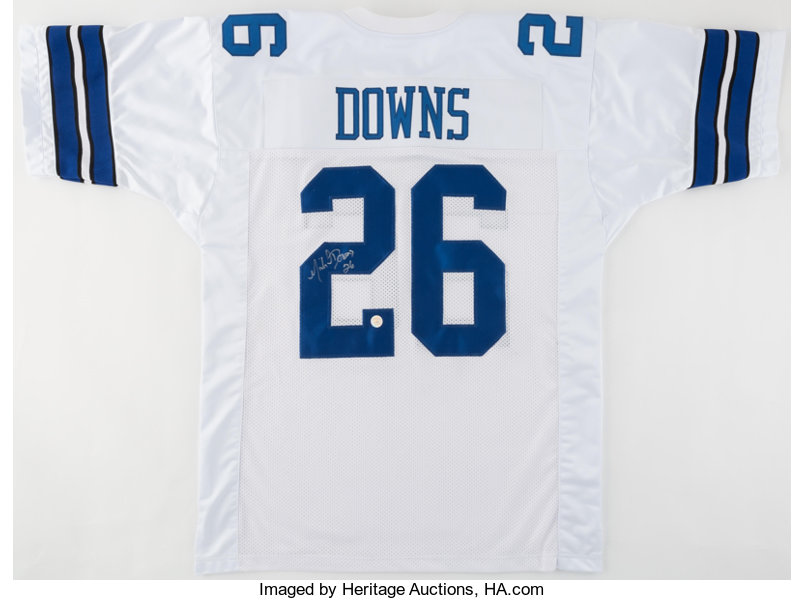 2b2ac5dd8d1 Football Collectibles:Uniforms, Michael Downs Signed Dallas Cowboys Jersey.