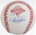 Autographs:Baseballs, 1996 World Series Derek Jeter Single Signed Baseball. ...