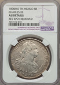 Mexico, Mexico: Charles IV 8 Reales 1808 Mo-TH AU Details (Reverse SpotRemoved) NGC,...