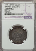 Mexico, Mexico: Oaxaca. Ferdinand VII silver Proclamation Medal 1808 AUDetails (Holed) NGC,...