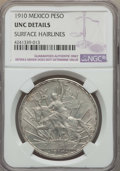 Mexico, Mexico: Republic Peso 1910 UNC Details (Surface Hairlines) NGC,...