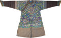 Asian:Chinese, A Chinese Silk Brocade Robe. 51 inches high (flat, middle of collarto lower hem) (129.5 cm). 42 inches long (flat, middle o...