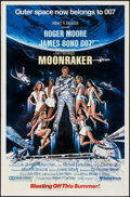 "Movie Posters:James Bond, Moonraker (United Artists, 1979). One Sheet (27"" X 41"") TeaserStyle. James Bond.. ..."