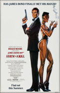 "Movie Posters:James Bond, A View to a Kill (United Artists, 1985). One Sheet (27"" X 40"")Advance. James Bond.. ..."