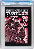Modern Age (1980-Present):Alternative/Underground, Teenage Mutant Ninja Turtles #1 (Mirage Studios, 1984) CGC VF 8.0Off-white to white pages....