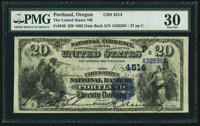 Portland, OR - $20 1882 Date Back Fr. 549 The United States NB Ch. # (P)4514