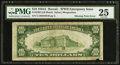 Error Notes:Major Errors, Fr. 2303 $10 1934A Hawaii Federal Reserve Note. PMG Very Fine 25.....