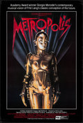 "Movie Posters:Science Fiction, Metropolis (PSO, R-1984). One Sheet (27"" X 40""). Science Fiction....."