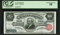 Large Size:Silver Certificates, Fr. 301 $10 1891 Silver Certificate PCGS Choice About New 58.. ...