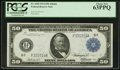Fr. 1044 $50 1914 Federal Reserve Note PCGS Choice New 63PPQ