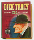 Golden Age (1938-1955):Cartoon Character, Big Little Book #1449 Dick Tracy Special F.B.I. Operative (Whitman,1943) Condition: VF/NM....