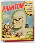 Golden Age (1938-1955):Adventure, Big Little Book #1421 The Phantom and Desert Justice (Whitman, 1941) Condition: VF/NM....
