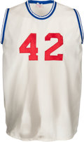 Basketball Collectibles:Uniforms, 1971 Nate Thurmond NBA/ABA All-Star Game Worn Jersey, MEARS A8....