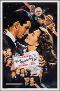 "Movie Posters:Fantasy, It's a Wonderful Life (Kilian, R-1990). One Sheet (27"" X 41"") SS.Fantasy.. ..."