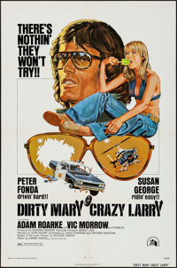 """Dirty Mary Crazy Larry & Other Lot (20th Century Fox, 1974). One Sheets (2) (27"""" X 41""""). Drama. ... (T..."""
