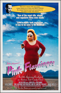 "Pink Flamingos (Fine Line, R-1997). One Sheet (27"" X 41""). Comedy"