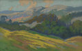 Fine Art - Painting, American:Modern  (1900 1949)  , Carl Sammons (American, 1883-1968). Mountain Landscape, c.1921. Pastel on board. 11-1/4 x 7 inches (28.6 x 17.8 cm). Si...