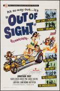 """Movie Posters:Rock and Roll, Out of Sight (Universal, 1966). One Sheet (27"""" X 41""""). Rock and Roll.. ..."""