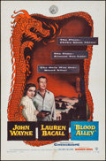 "Movie Posters:Action, Blood Alley (Warner Brothers, 1955). One Sheet (27"" X 41"").Action.. ..."