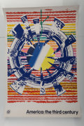 Fine Art - Work on Paper:Print, James Rosenquist (1933-2017). Miles (from America: the thirdcentury), 1976. Screenprint in colors. 35 x 24 inches (88.9...