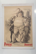 Fine Art - Work on Paper:Print, Charles-Lucien Léandre (1862-1930). Panurge , 1913.Lithograph in colors. 39 x 28 inches (99.1 x 71.1 cm) (sheet).Print...